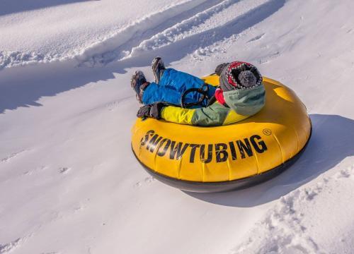 SnowTubing - fajna zabawa, wiele emocji! :)